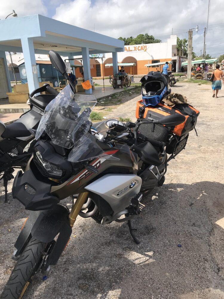 Break in X-Can, Yucatan, Mexico