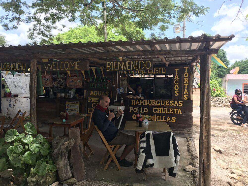 Lunch in Kikil, Yucatan, Mexico