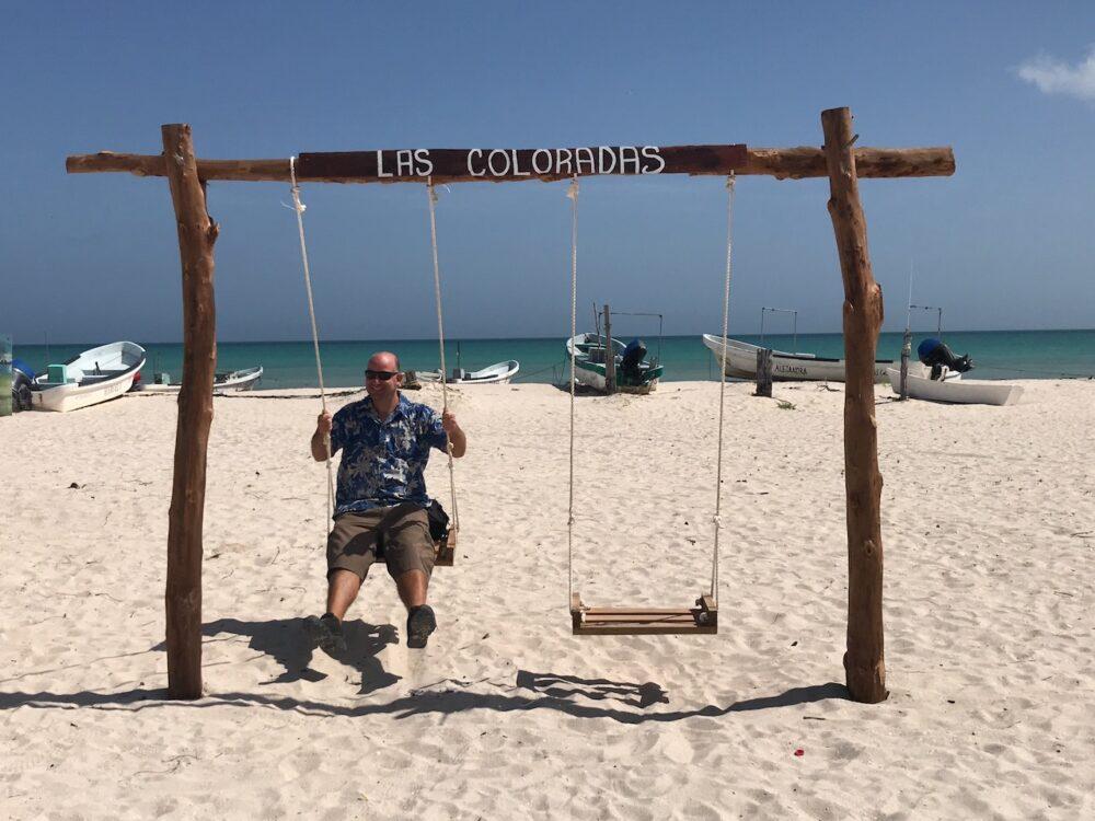 Swings in Las Coloradas