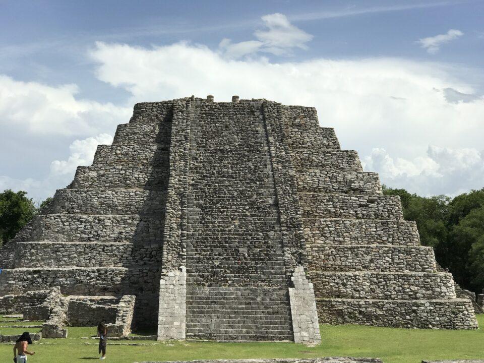 Mayapan main pyramid