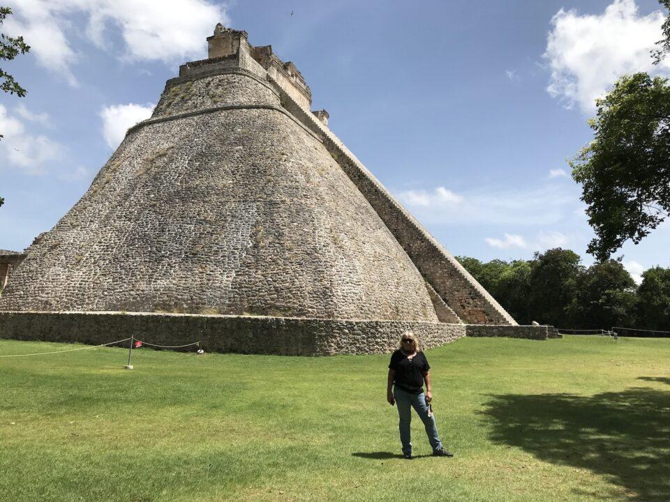 Uxmal main pyramid